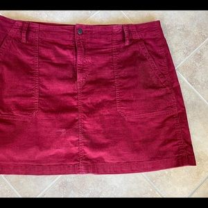 Old Navy corduroy skirt